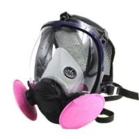 Masker Gas Full Face dengan Round Filter 601 BC6800 TERLARIS Hita