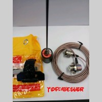 Harga paket antena radio rig larsen po150 plus kabel teplon dan | antitipu.com