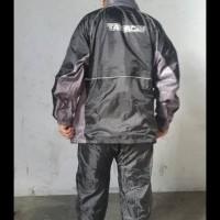 Jas Hujan Takachi Japan Black Signature Series Berhadiah Merchandise