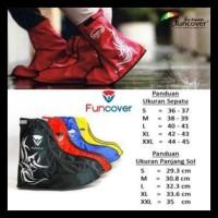 Jas Hujan Sepatu Kantor, Sepatu Wanita, Pantofel - Anti Air Fun Cover