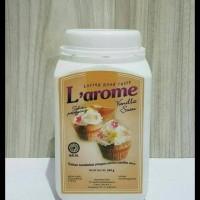 Best Seller Perisa Bubuk Merk Larome Dengan Aroma Vanilla Susu 50Gram