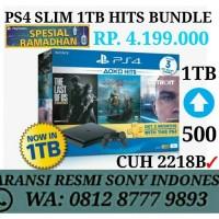 PS4 Slim Console 2006A 500GB Garansi Resmi