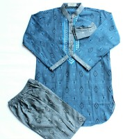 5,6,7 baju koko anak baju gamis pakistan baju muslim anak laki laki