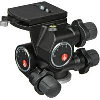 Manfrotto 410 3-Way Geared Pan and Tilt Head with 410PL Quick Release