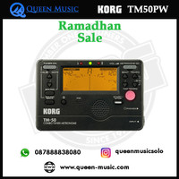 Ramadhan sale korg tuner metronome TM50PW