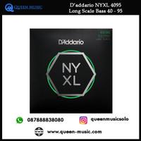 senar daddario nyxl 4095 long scale bass 40 - 95