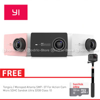 Xiaomi Yi 4K Mark II / Ver.2 International Version Paket Combo Supreme