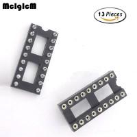 Baru 13pcs Adapter Soket IC DIP Bulat 18 Pin 2.54mm IC socket