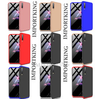 Samsung A50 360 protection slim matte case - all color