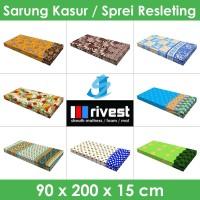 Rivest Sarung Kasur - 90 x 200 x 15 cm