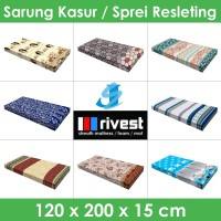 Rivest Sarung Kasur - 120 x 200 x 15 cm