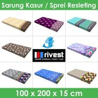 Rivest Sarung Kasur - 100 x 200 x 15 cm