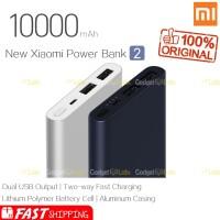 Powerbank Xiaomi 10000 MAh Versi 2 Mi Pro 2 Fast Charging Original