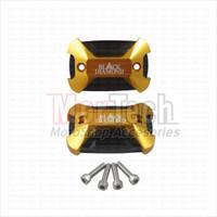 Black Diamond Cover Tutup Oli Master Rem Honda PCX 150 Lokal CNC
