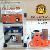 MESIN CUP SEALER ETON ET-D1 (gelas 12-22oz)+ PLASTIK