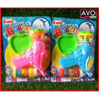 mainan anak bubble gun tembakan gelembung balon sabun praktis