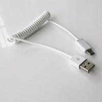 FA KABEL DATA CHARGER USB TIPE C SPIRAL 1M