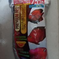 makanan ikan AKARI premium red blood parrot 250 gr