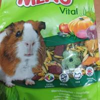 makanan hamster gerbil guinea pigs premium vitakraft menu vital 400 gr
