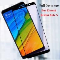 Premium Tempered Glass Glue Full Cover Xiaomi Redmi Note 5 Pro