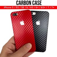 Carbon Case iPhone / Casing Carbon Slim iPhone 5 5S 6 6S 6  7 7  8  X