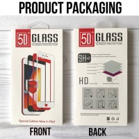 Tempered Glass 5D / 4D / 3D iPhone 6 6S 6  6S  7 7  8 8  X Full Screen