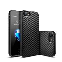 Carbon Case Casing Black iPhone 5 5S SE 6 6S 6  6S  7 7  8 8  X