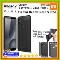 Backcover Case iPaky Xiaomi Redmi Note 5 Pro |Softcase Backdoor Xiaomi