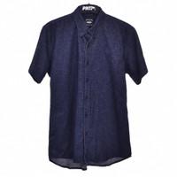 SS.61 / Men Shirt Short Navy - Premium Nation Original