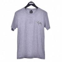 ZEBRA / Men Short Sleeves Tshirt Misty Grey - Premium Nation Original