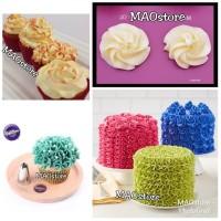 Harga spuit kw1 wilton 2d bunga swirl utk cupcake buttercream   antitipu.com