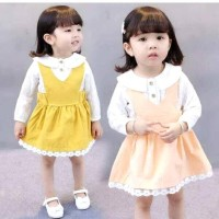 Dress casual import/dress anak/dress Lionel