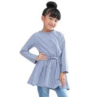 IK 9IJD25 Baju Atasan Dress Anak Perempuan Cantik Murah Ori