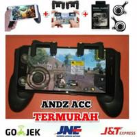 PAKET lengkap JOYSTIcK gamepad L1 R1 PUBG/ROS/ MOBILE LEGEND ANDROID