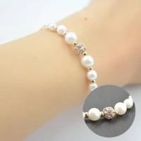 gelang ladies pearl bracelet