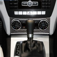 Mercedes Benz W204 Interior Control Panel & Steer Carbon Cover