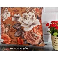 Sarung Bantal Sofa Kursi Shabby Chic Premium / SBK Set Rossa Bella