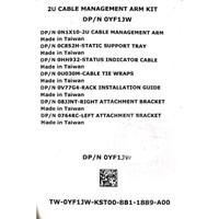 Dell Cable Management 2u Arm Kit 0YF1JW
