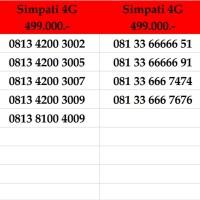 Nomor Cantik Simpati Kartu Perdana Telkomsel Bukan Indosat 10 11 Digit