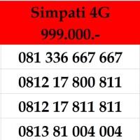 Nomor Cantik Simpati Kartu Perdana Telkomsel Bkn Indosat 10 11 Digit