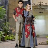 baju couple batik keluarga set family gamis syari muslim elegan