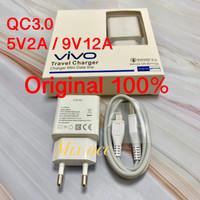 Charger Vivo 2A / 9V Fast charging V5 V7 original 100% micro usb