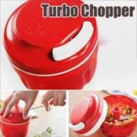 turbo chopper pencacah penggiling daging manual makanan bawang murah