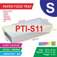 PTI-S11 Paper Tray Uk 8 x 16.5 x 3 cm Cetak 1 Warna Laminating 1 Sisi