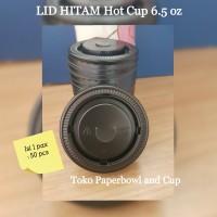 Tutup / Lid Hot Cup 6.5 oz isi 50 pcs