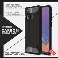 Armor Case Samsung A20 A30 Soft Softcase Hard Hardcase Casing Cover