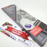 High Quality Derwent Sketching set 6 tin Premium