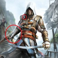 Jual New Assassins Creed 4 Hidden Blade Pvc Action Figure Edward