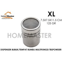 Tempat Bumbu/Powder/Bubuk/Topping Stainless XL TBSPOWDERXL