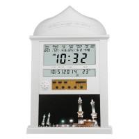 Ori Islamic Wall AZAN CLOCK Alarm Calendar Pray Remind Qibla
